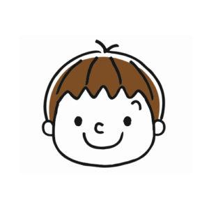 男の子‗笑顔